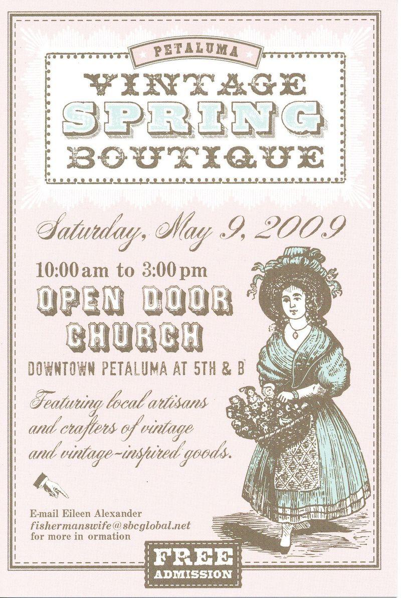 Vintage Boutique Flyer