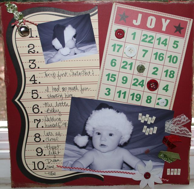 Layout #2 made with Kit